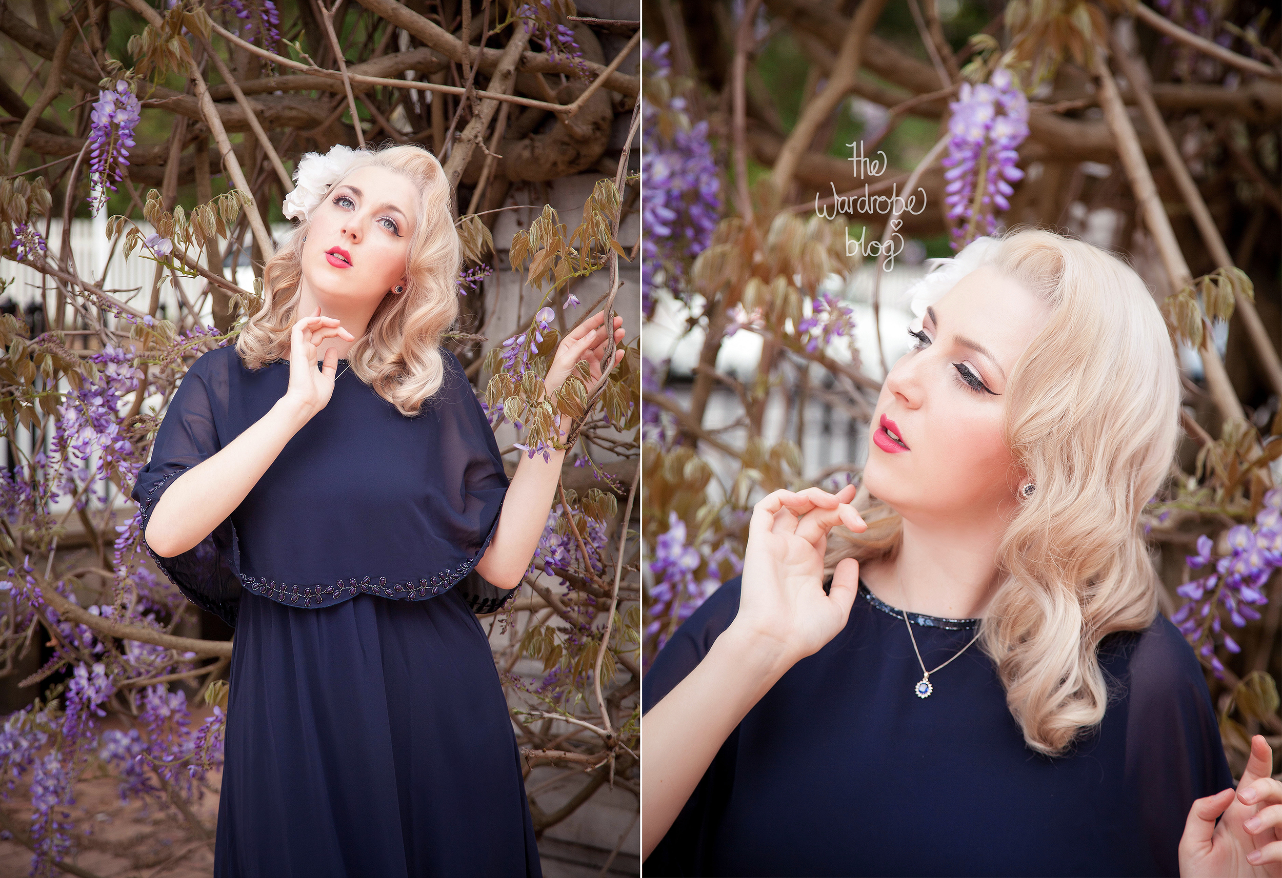 Dress from The Gatsbylady London, Hairflower from Lovisa and Jewellery from Pascoes.