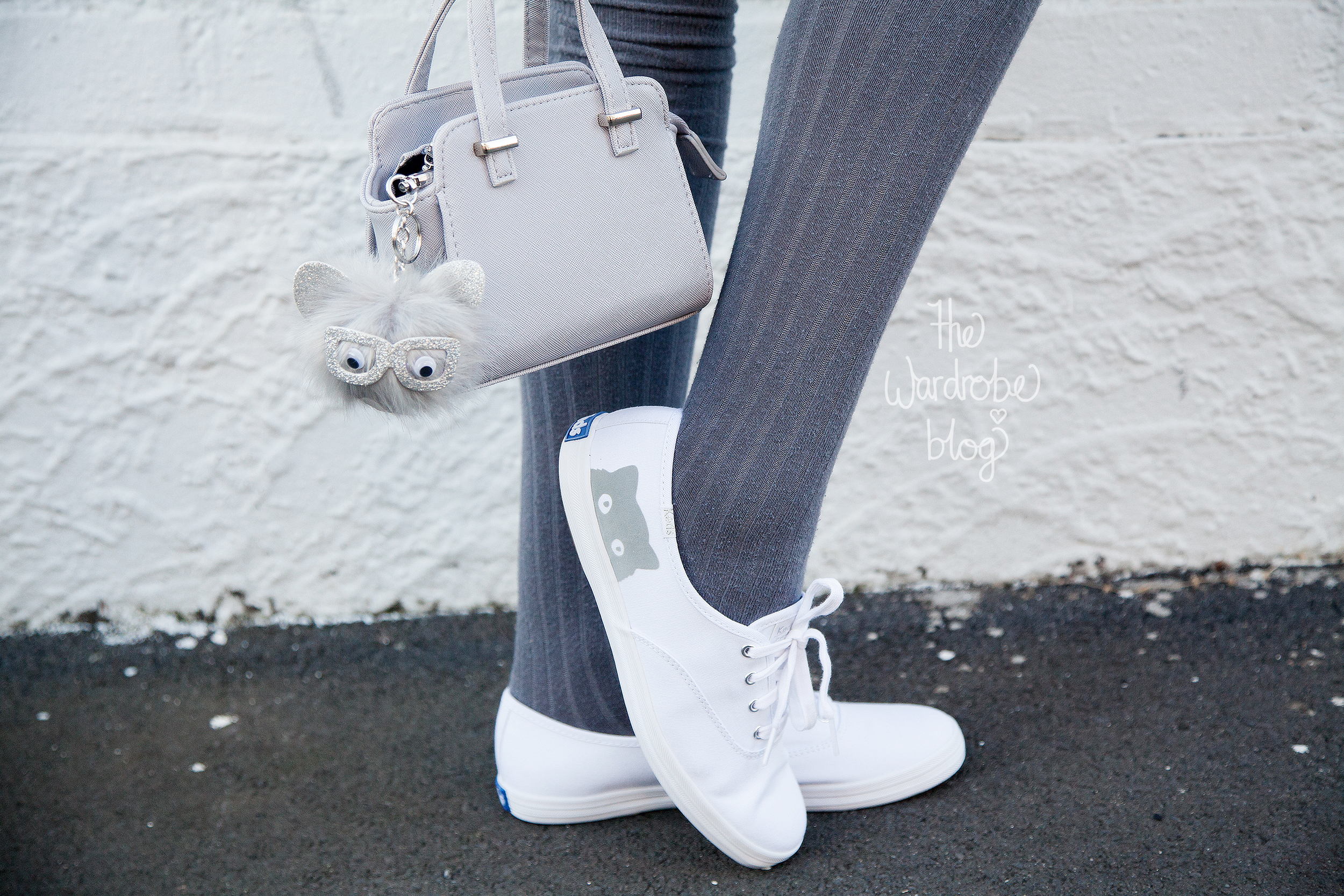 Bag + all accessories from Colette by Colette Hayman, Socks from Rubi Shoes, Shoes are Keds from Hannahs New Zealand.