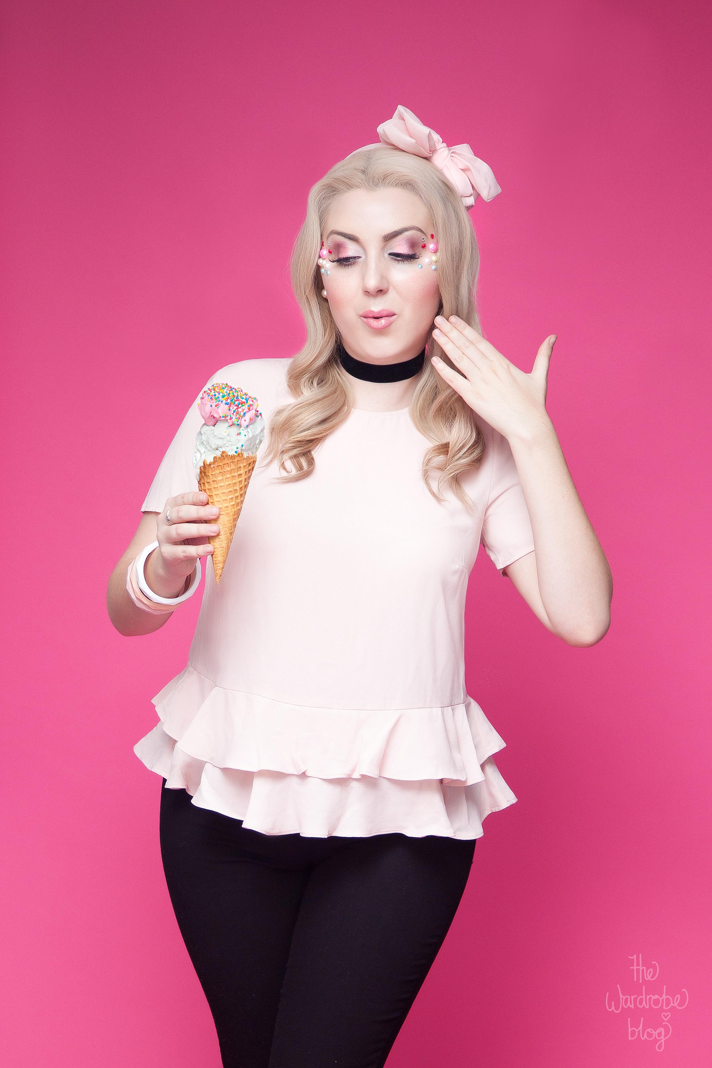 Icecream-Kmart-Pink-Pinup-Portrait