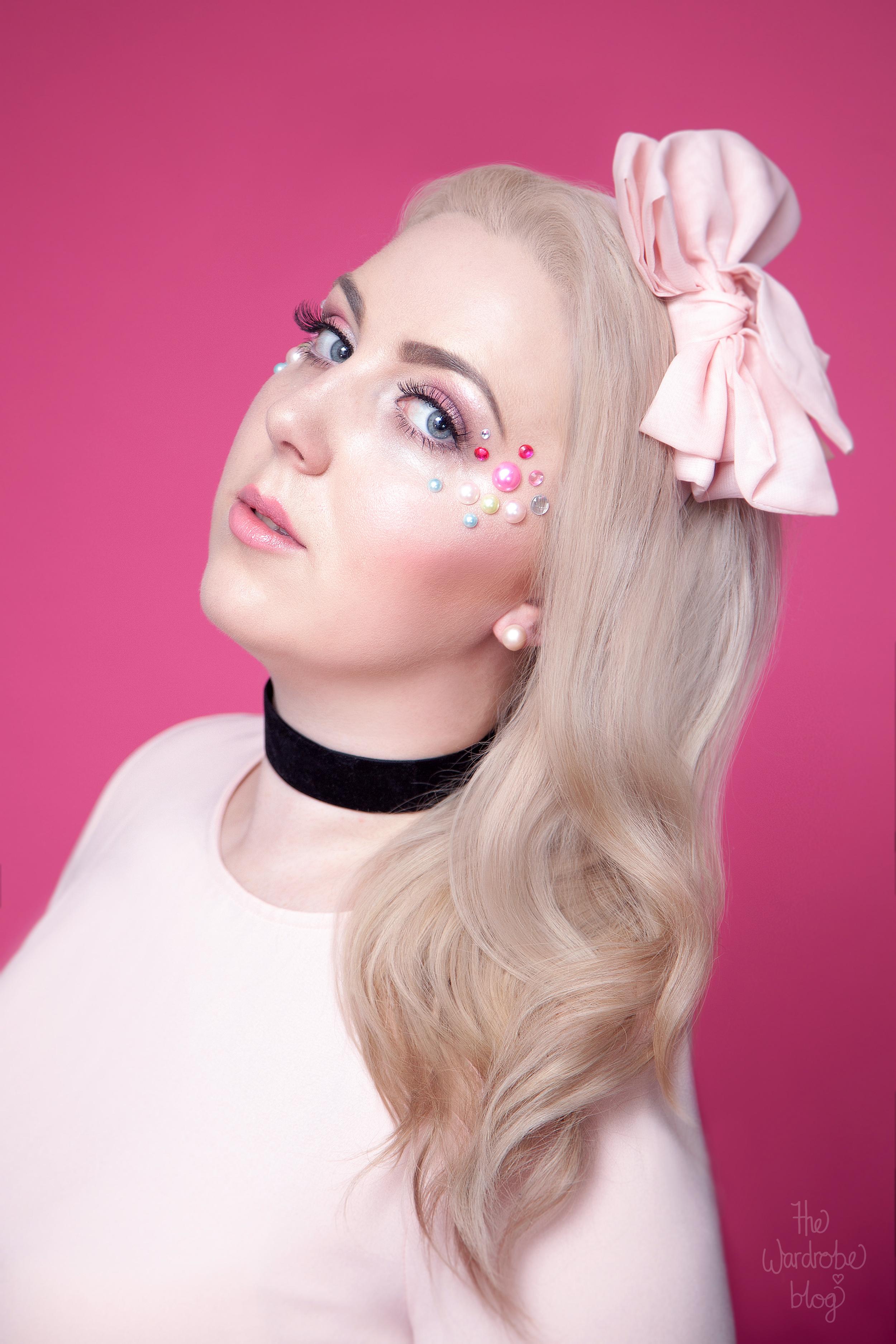 Icecream-Makeup-Editorial-Studio-Pastel