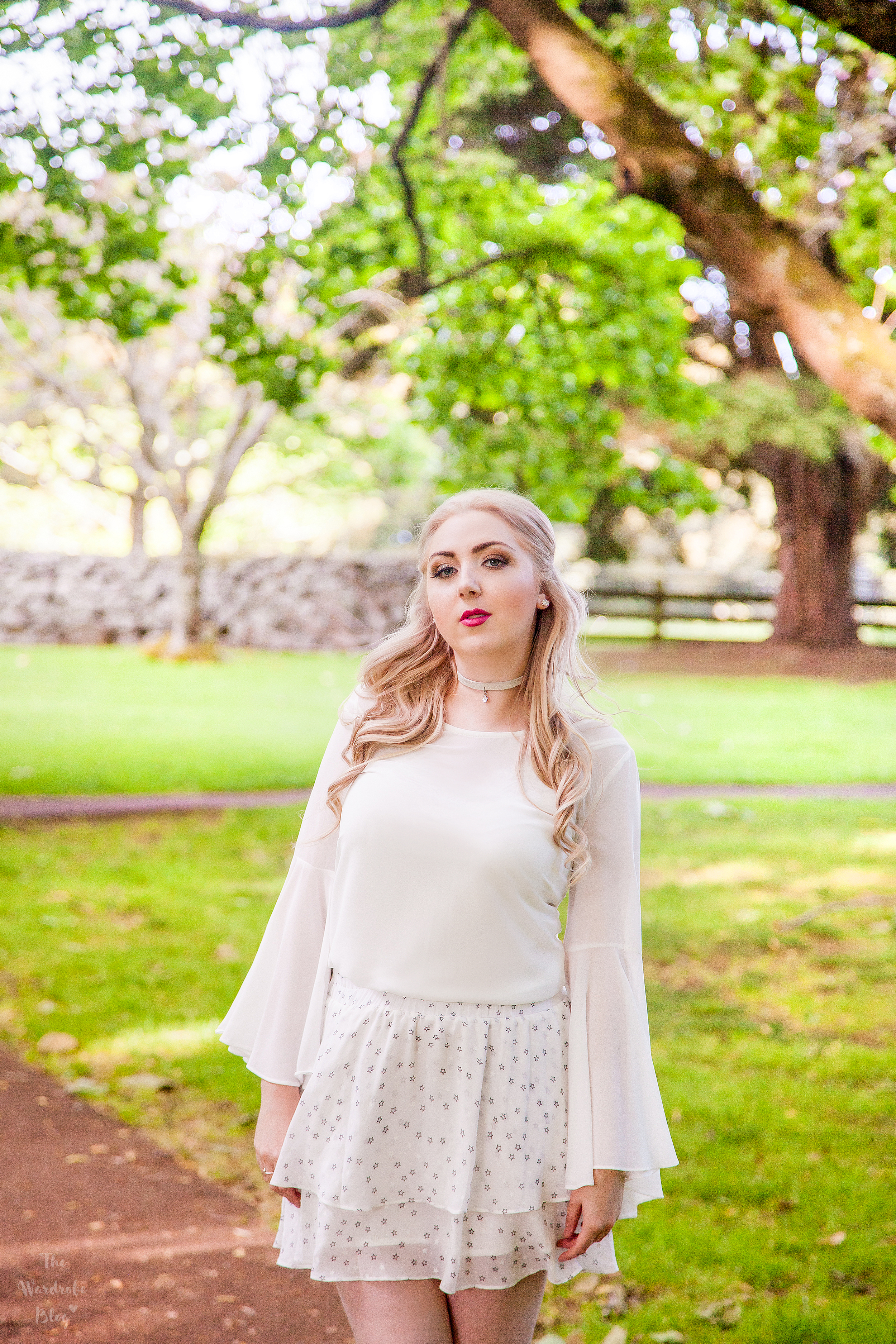 Pia-Boutique-White-Blouse-Bell-Sleeve