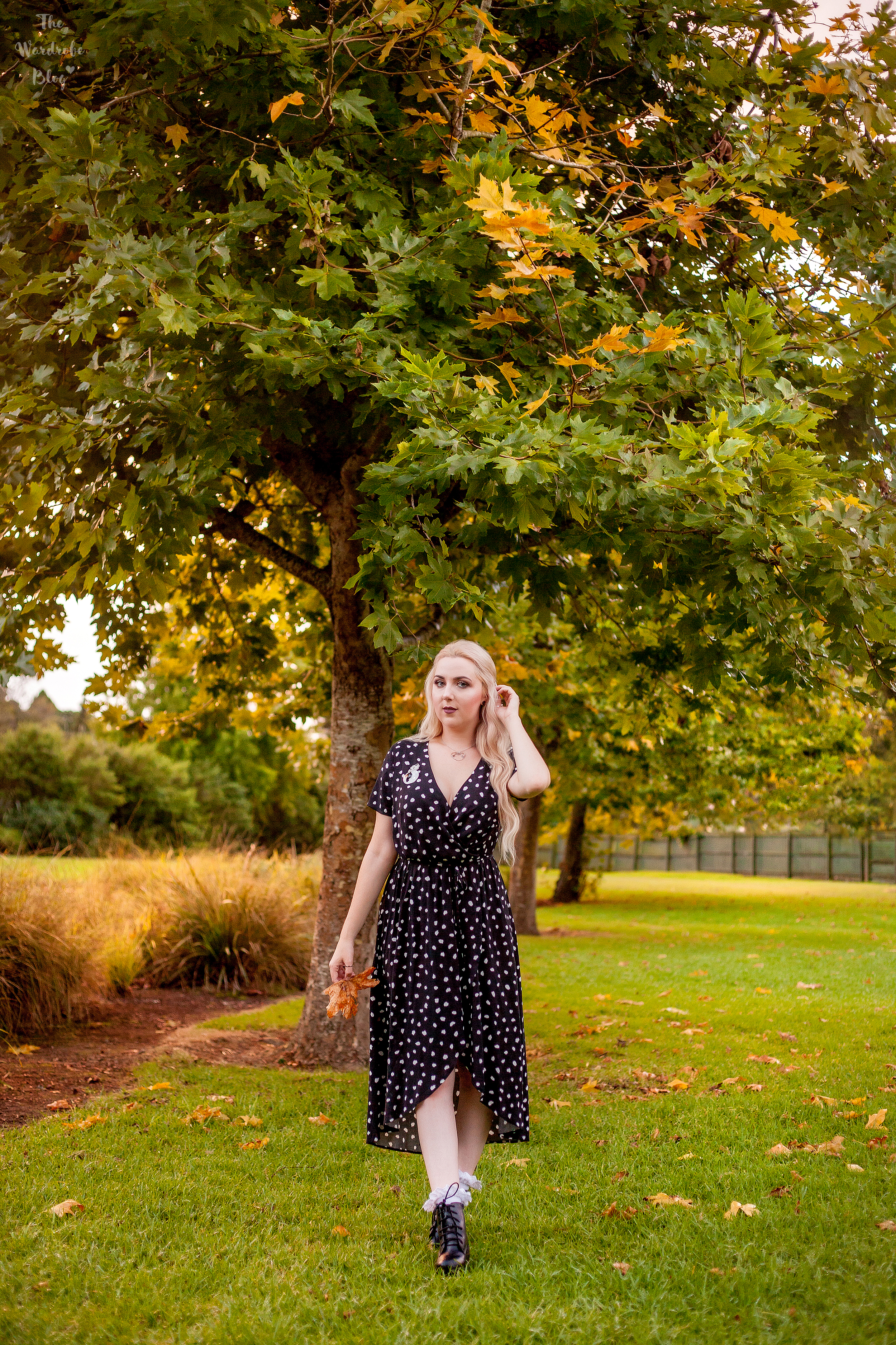 Autumn-Light-Full-Body-Polka-Dot-Kmart