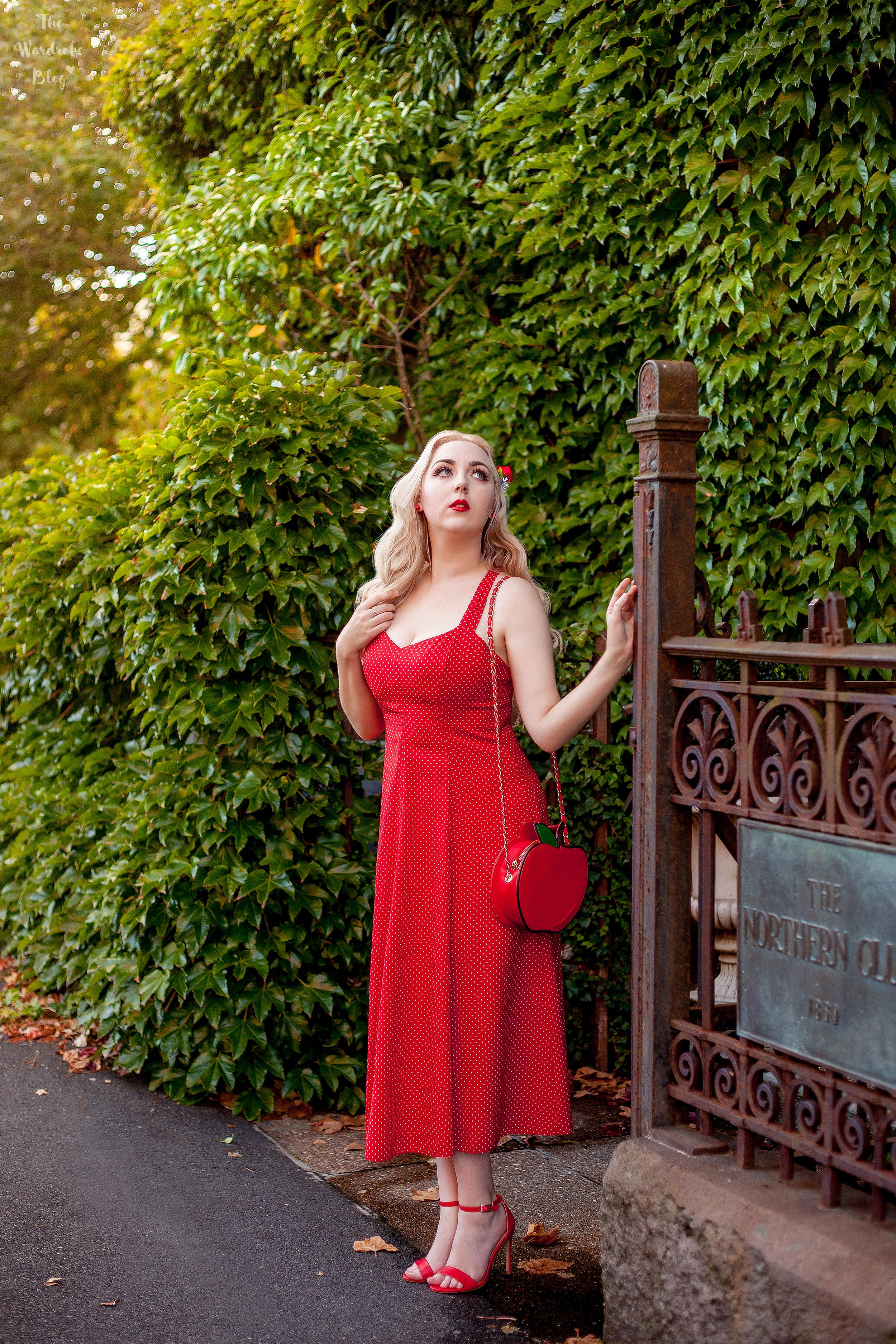 Red-Vintage-Polka-Dot-Dress