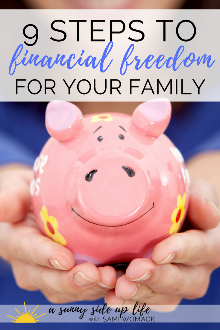 Loved this article on how to create financial freedom for your family!!!   freebie | debt | budgeting | budget | family budget | free budgeting worksheets | baby steps | dave ramsey | gazelle intense | how to start a budget | how to pay off debt | debt free | motherhood | overwhelmed | stress | where to start with budgeting | where to start with becoming debt free | credit card | student loan | steps to take | simple