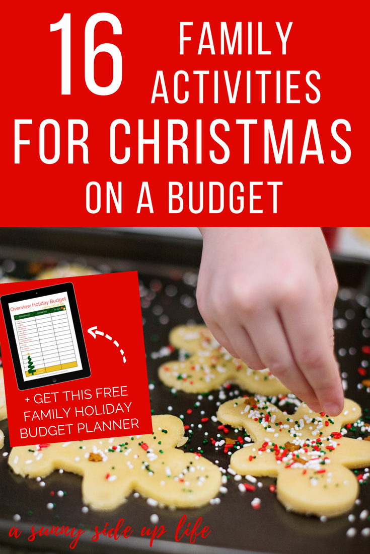 Family activities for christmas on a budget! Tons of tips and hacks for a family on a holiday budget!  budgeting | holiday budget | christmas budget | free holiday budget planner | free printable | christmas on a budget | budget friendly christmas | printable christmas planner | printable holiday planner | budget worksheets | budgeting for beginners | budget friendly gifts | frugal presents | christmas gifts