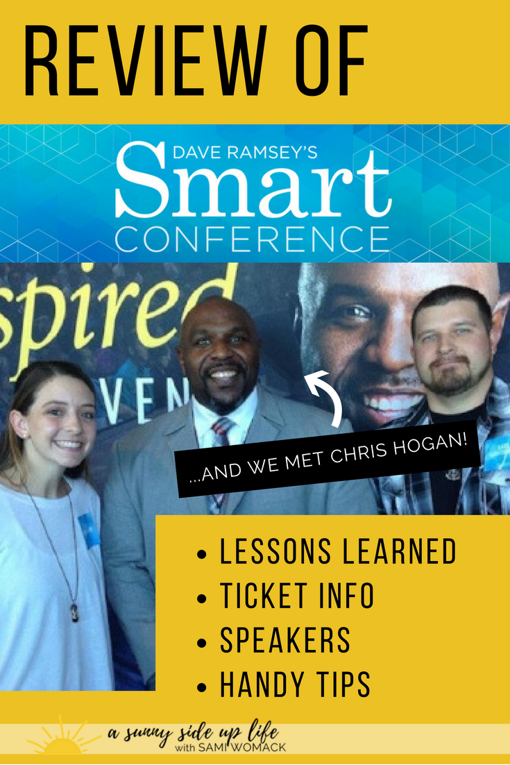 Our Day at Dave Ramsey's Smart Conference | Sami Womack | Dave Ramsey | debt-free life | debt-free tips | Dave Ramsey Smart Conference