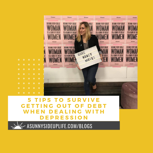 [5 tips to survive getting out of debt when dealing with depression] blog thumbnail.png