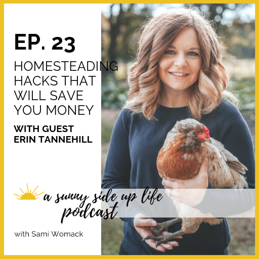 Listen to Erin's interview on A Sunny Side Up Life Podcast!
