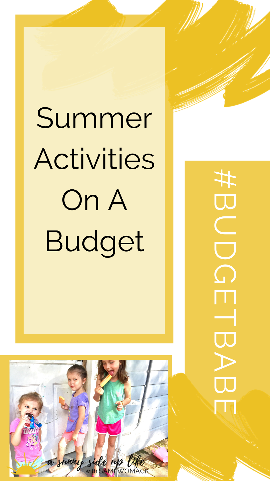 beginning debt free journey | budgeting | budget | how to start | budgeting tools | baby step 1 | where to start with your budget | summer activities for kids | family summer fun | summer on a budget | frugal ideas | cheap suggestions | children | summer break