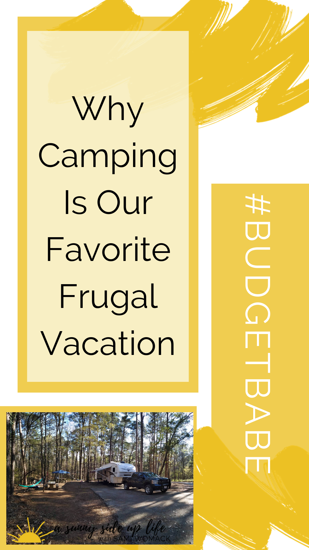 why camping is our favorite frugal vacation| beginning debt free journey | budgeting | budget | debt free family | frugal travel | budget friendly tips | where to start | summer fun on a budget | spring fun on a budget | frugal idea for kids on summer break