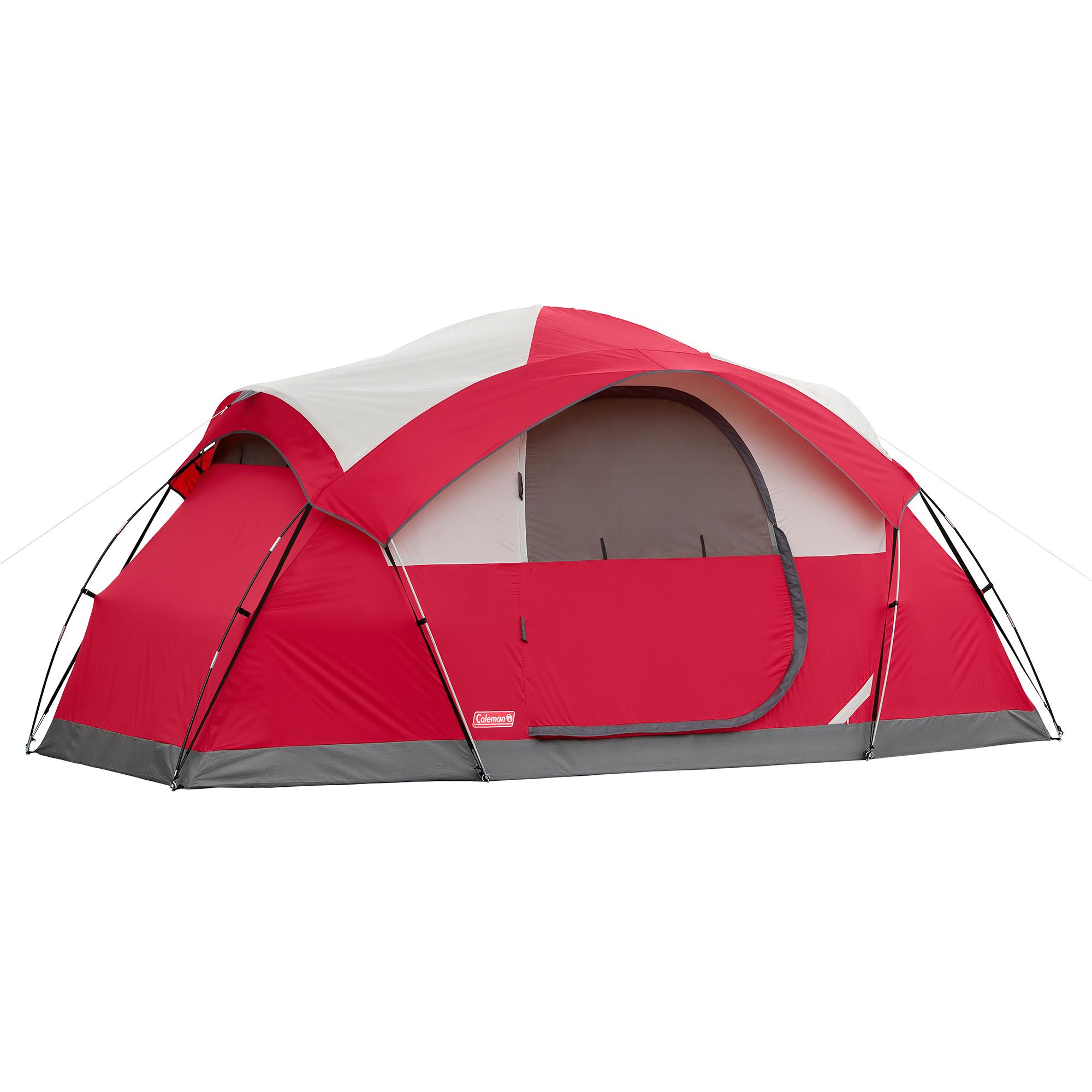 8-person tent via Walmart for $95