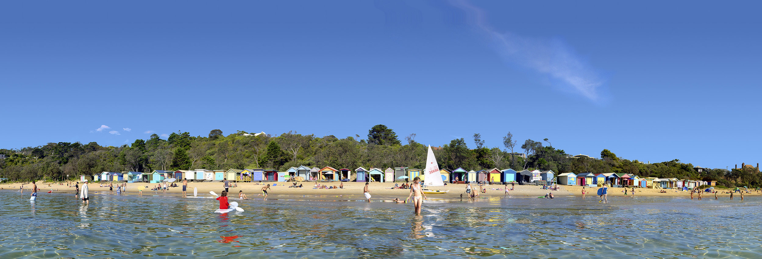 Bathing Boxes - Mornington Beach