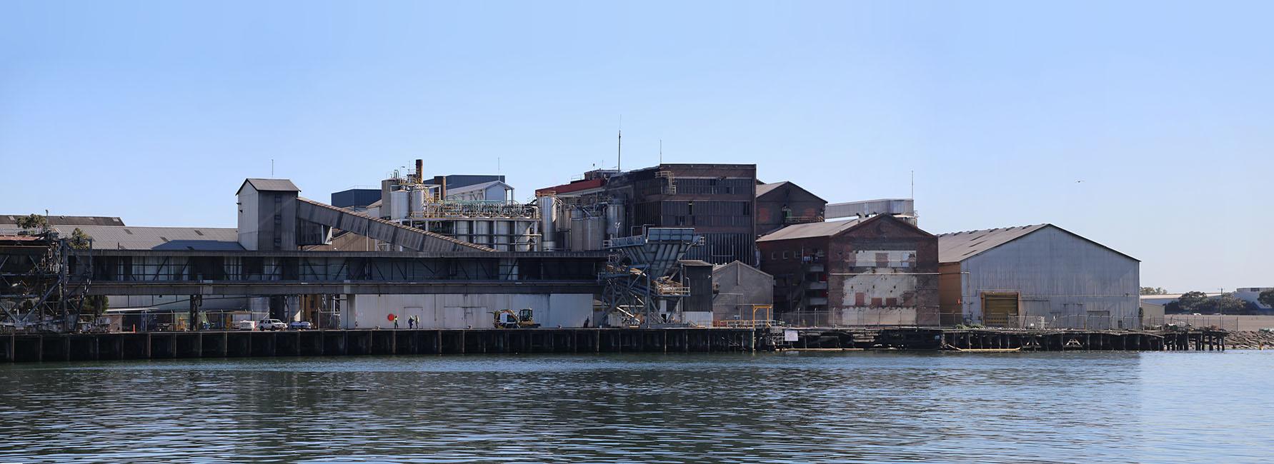 Industrial sheds on Maribyrnong & Yarra