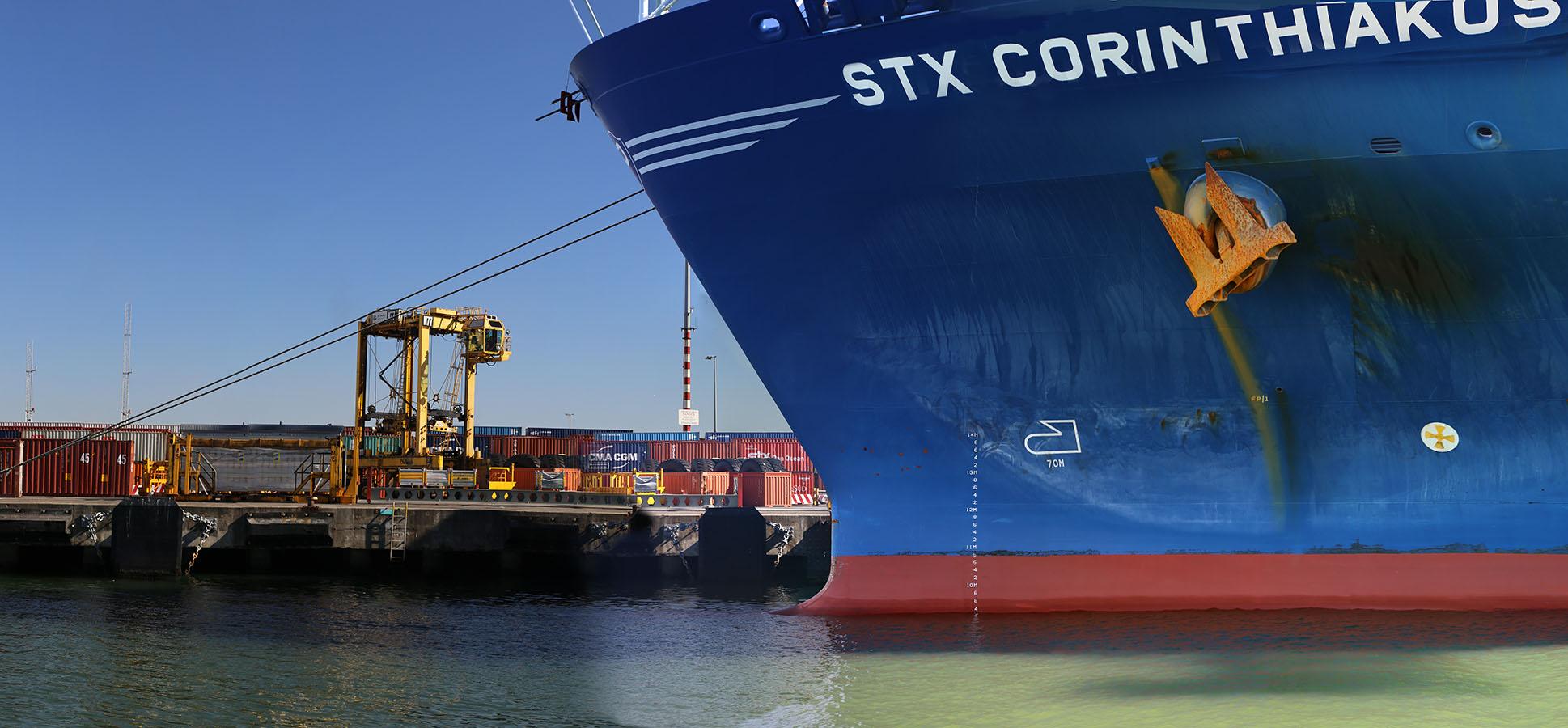 Wharf & STX Corinthiakos left