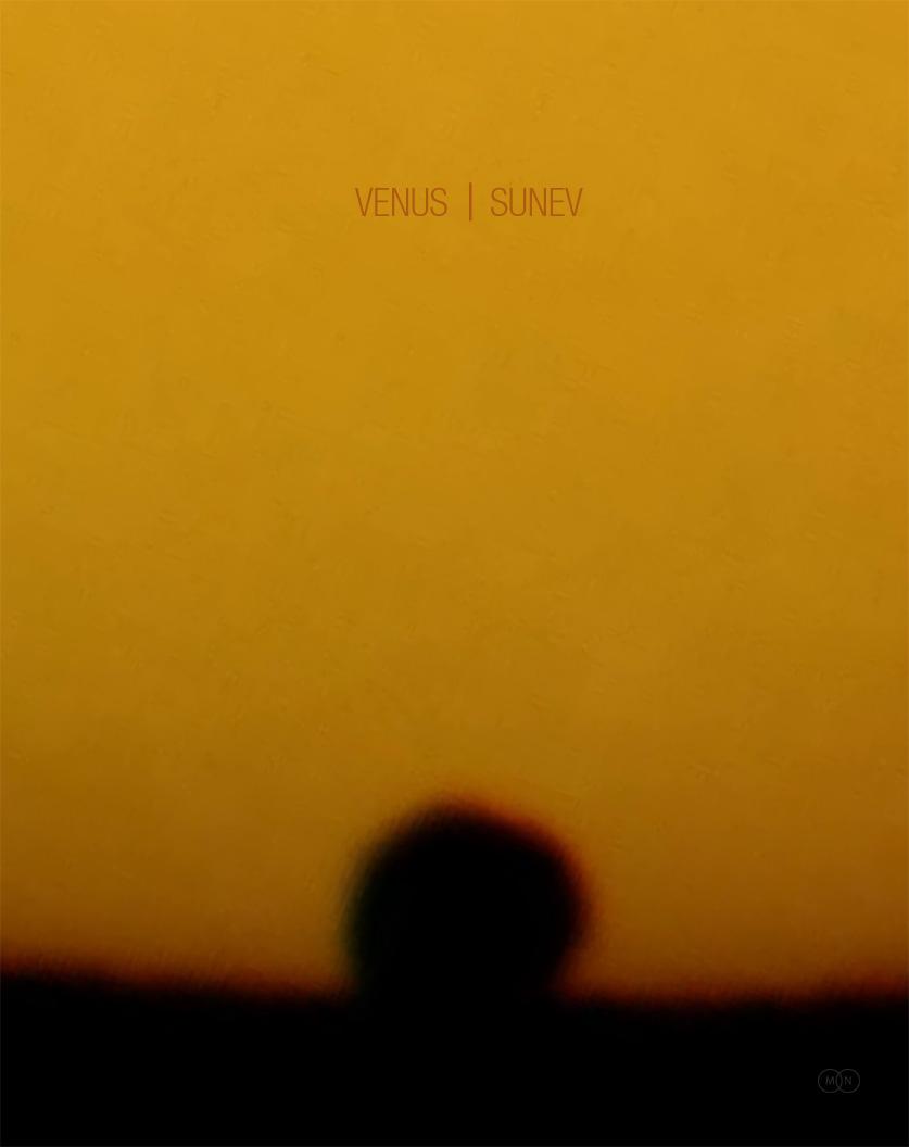 CD cover VENUS | SUNEV