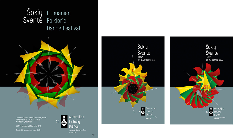 ALD 2016: Dance Festival posters