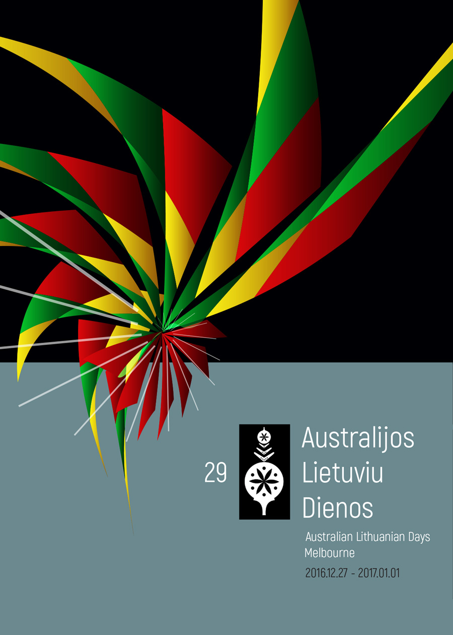 Australian Lithuanian Days poster