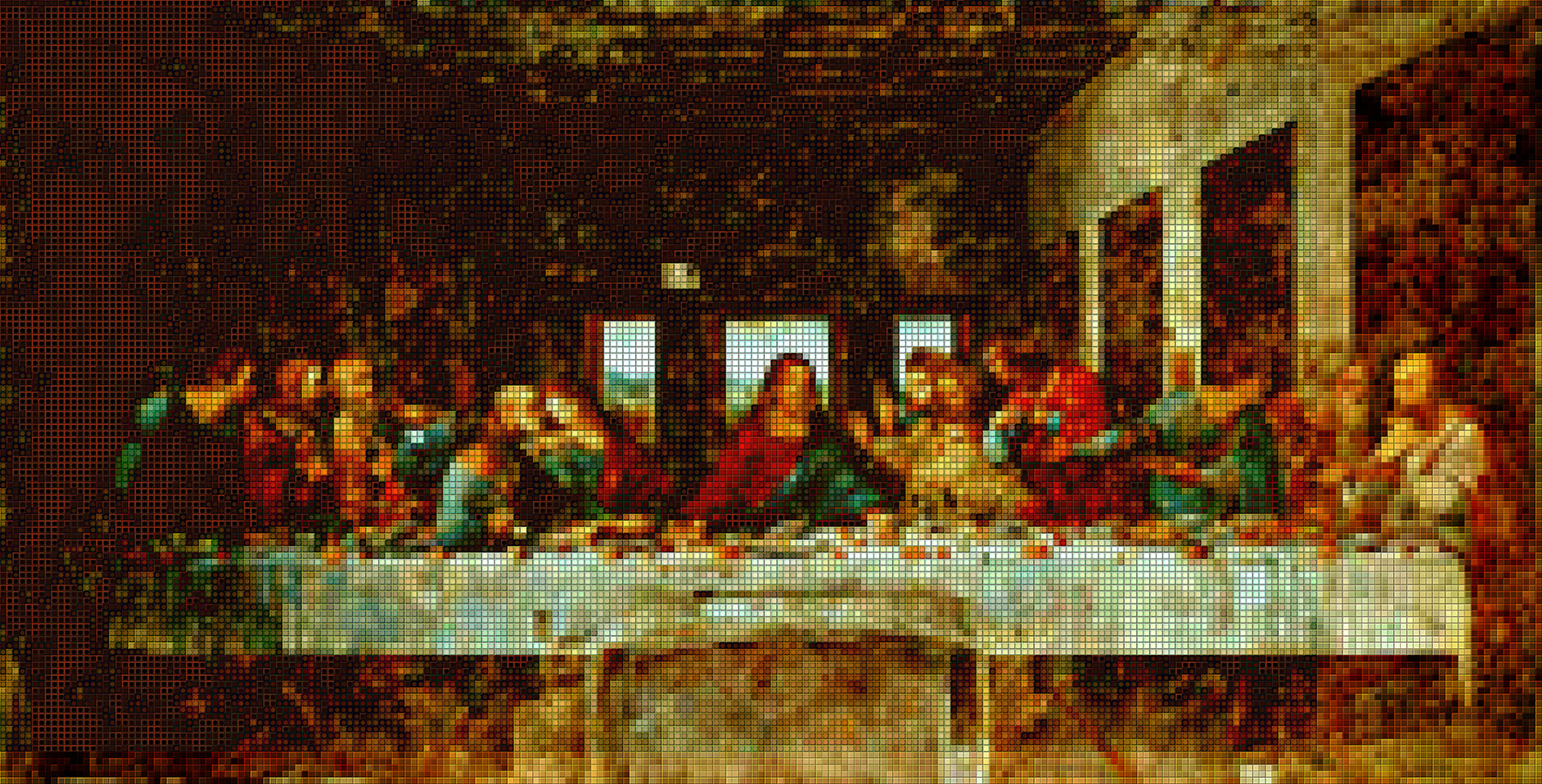 Last Supper - Mosaic