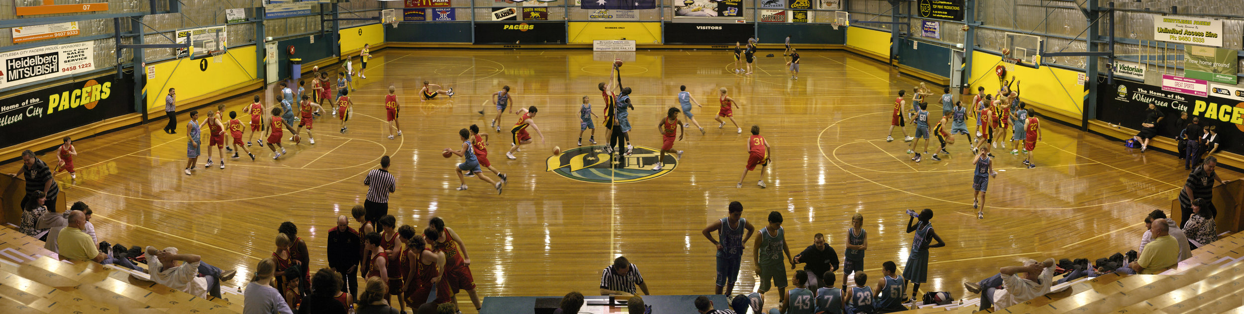 Interior basketball stadium - Whittlesea