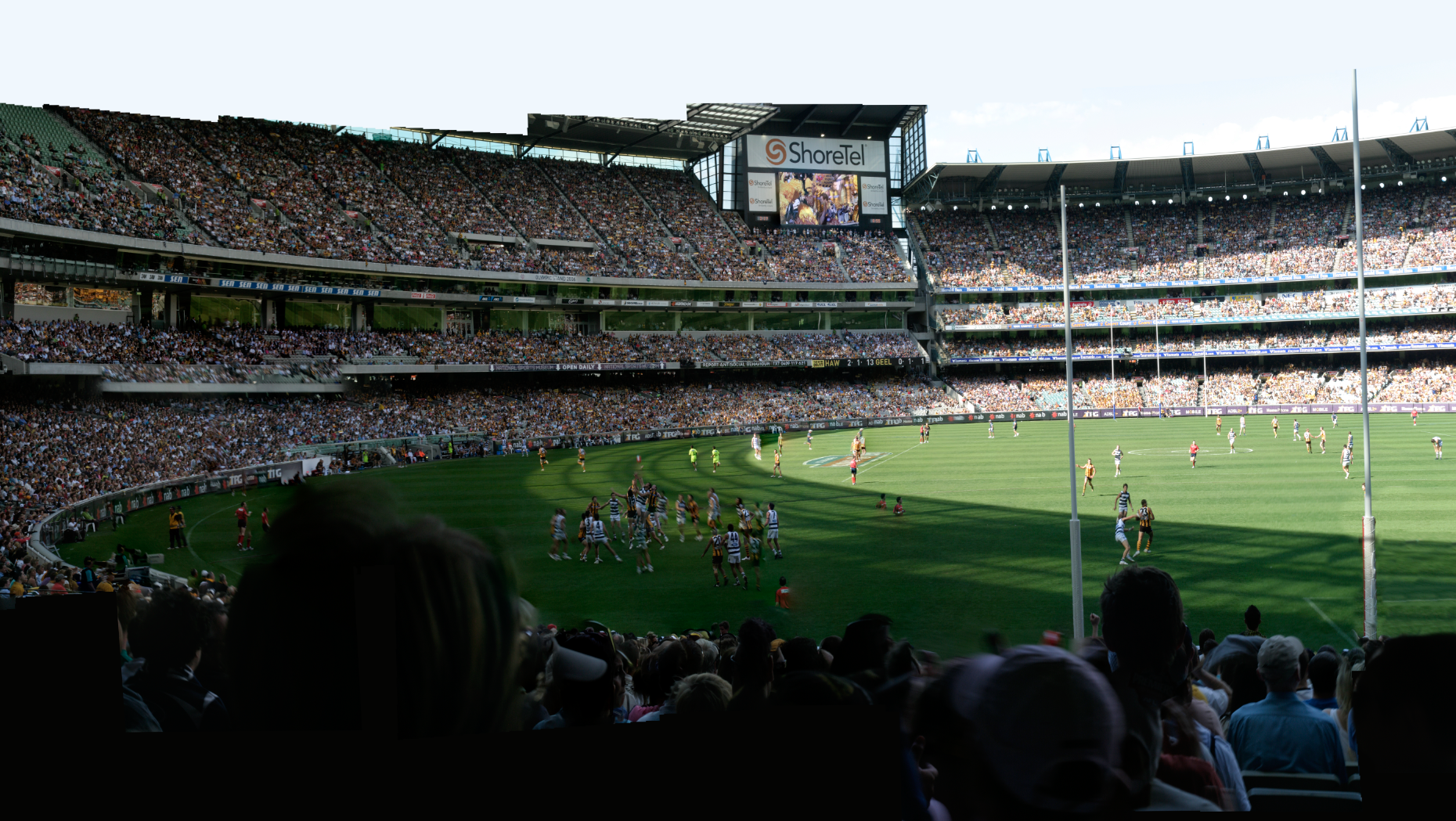 MCG Crowd detail