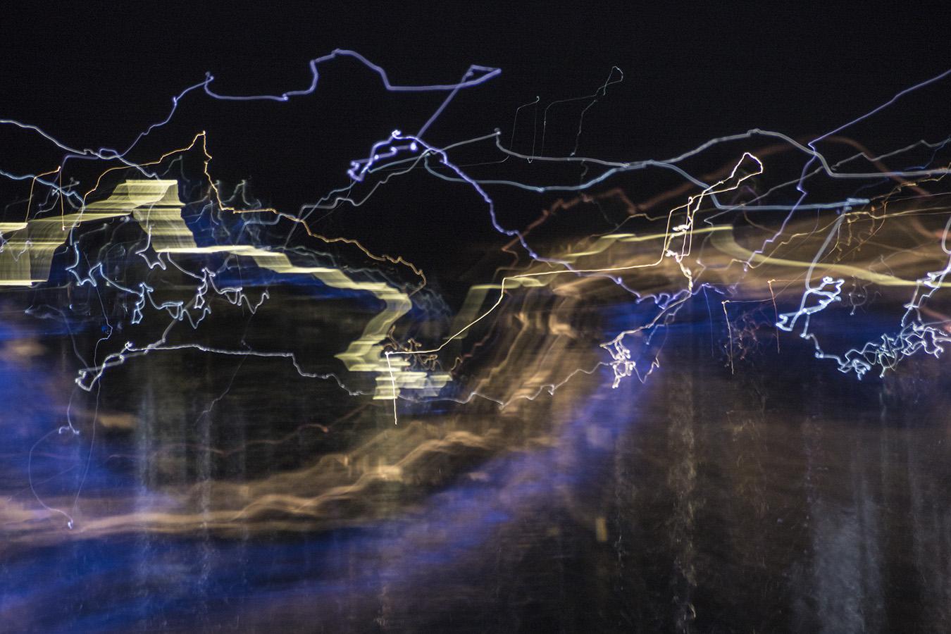 Watercraft at Night