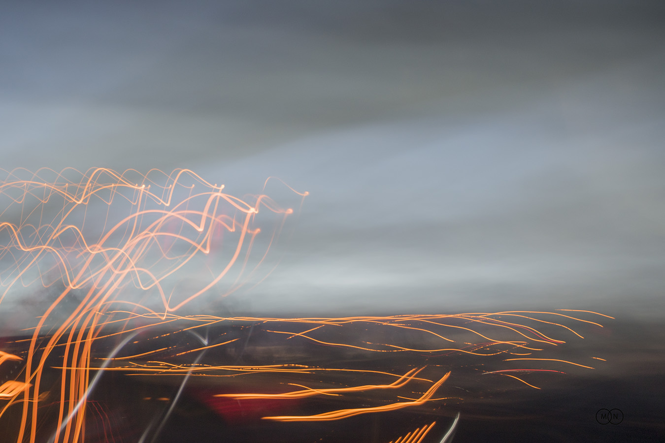 Landscape with Lights