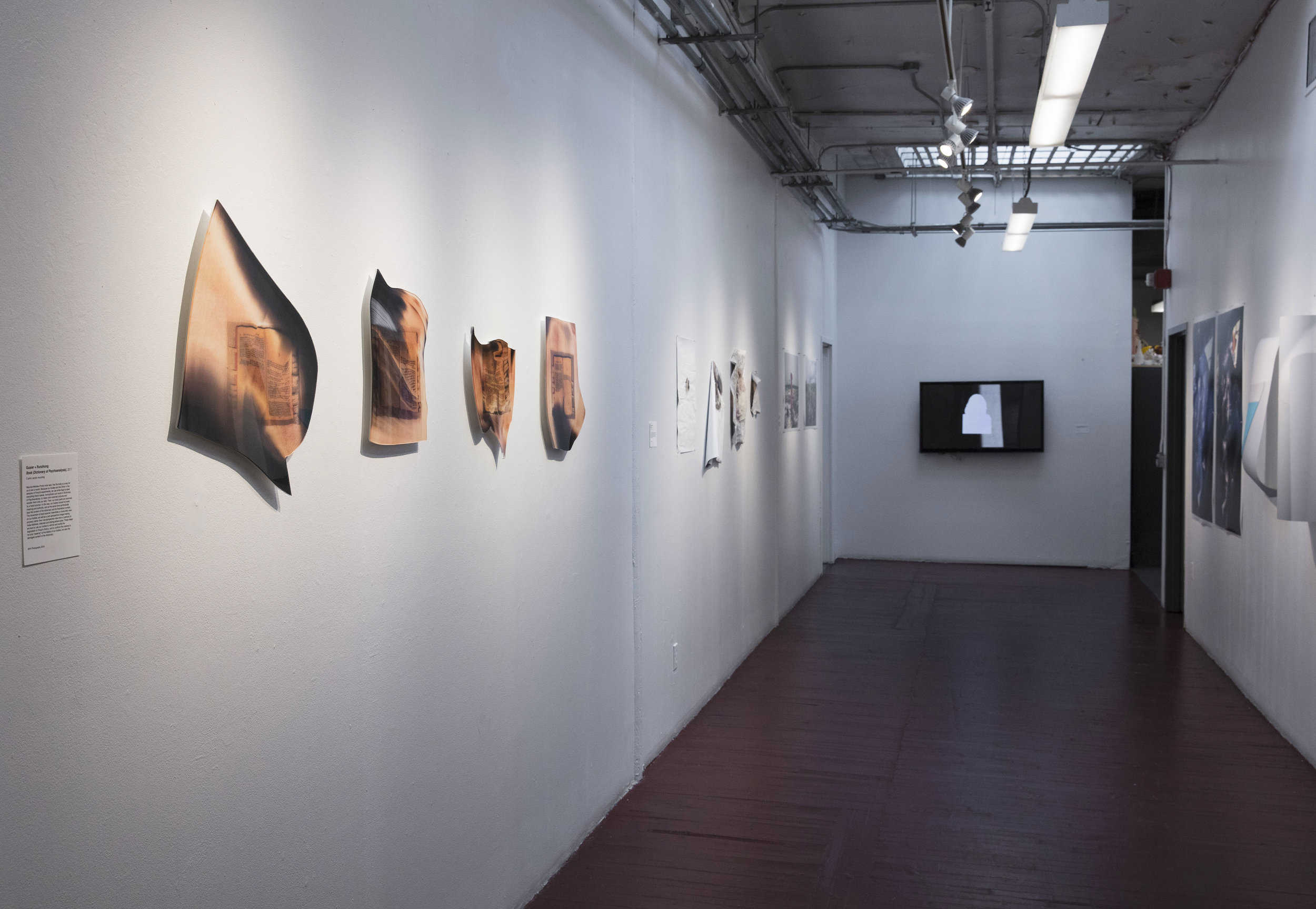 "Installation view, ""Photo, Matters."", New York, 2017"