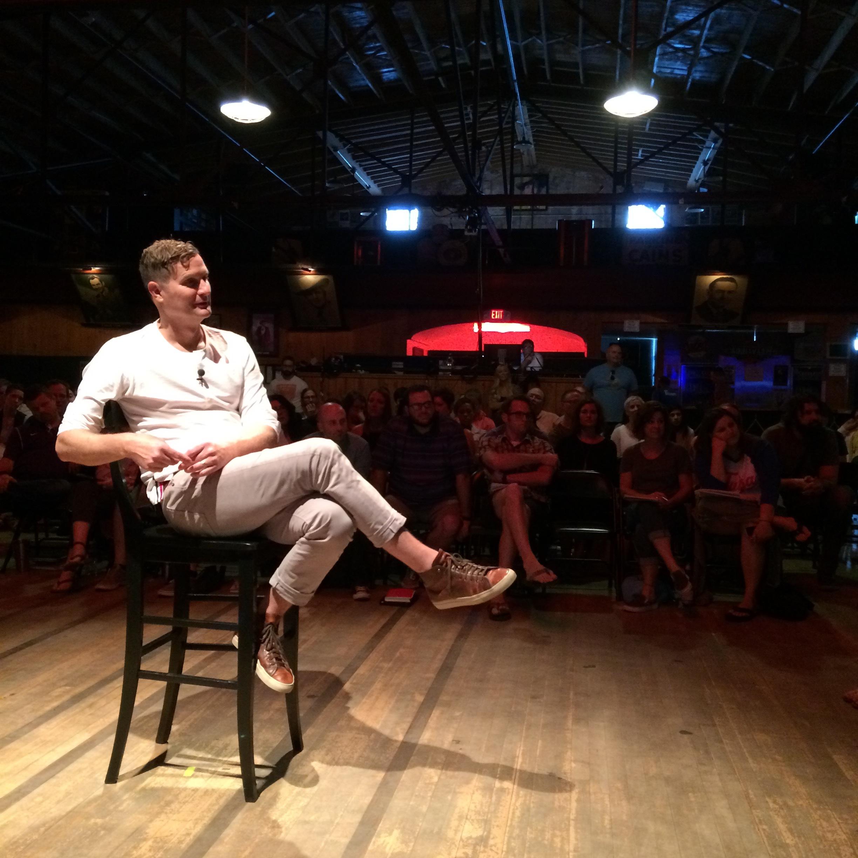 Rob Bell, How To Be Here Tour  Cain's Ballroom, Tulsa, OK.