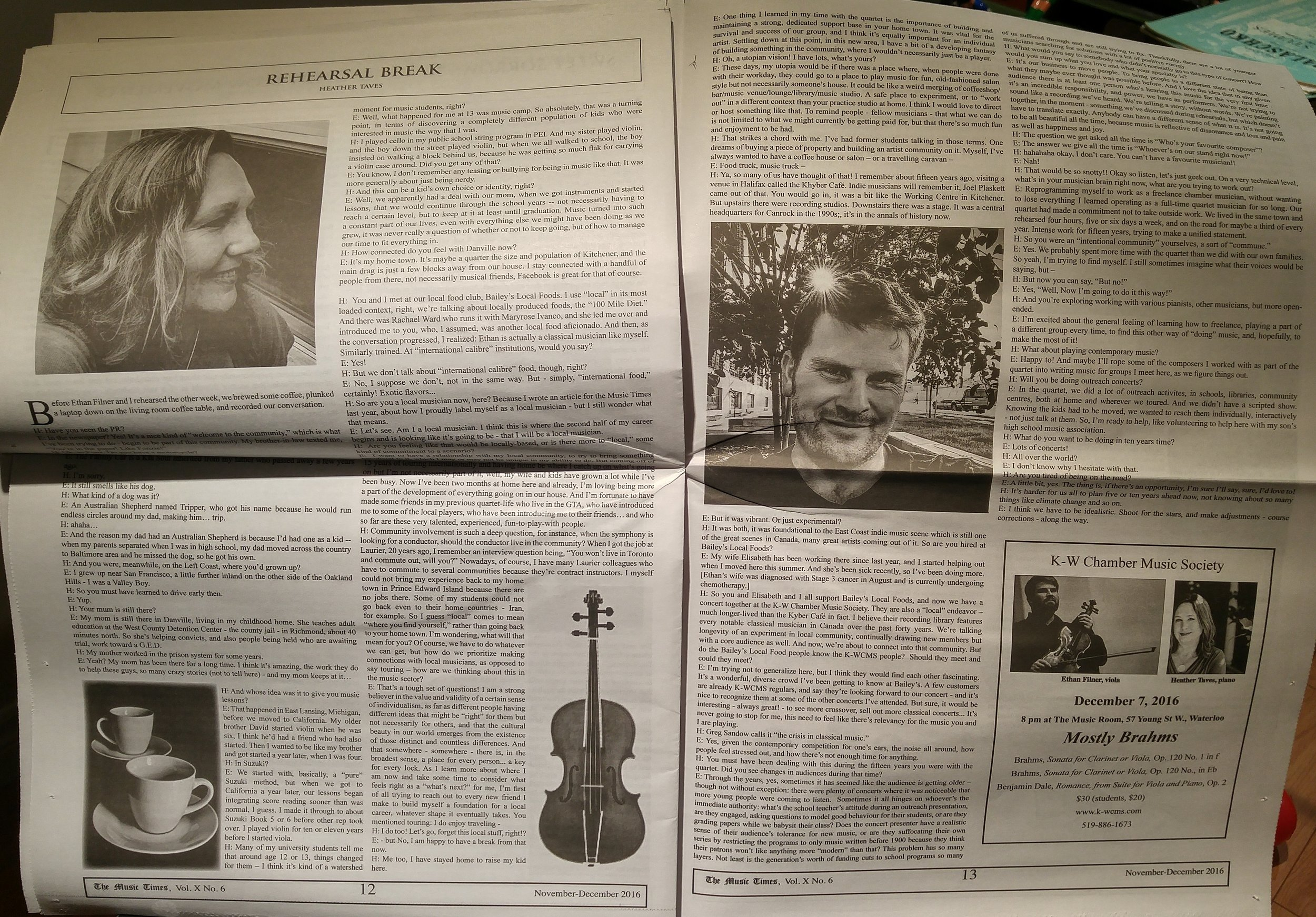 published in advance of our December 7 2016 viola+piano duo recital on the KWCMS series