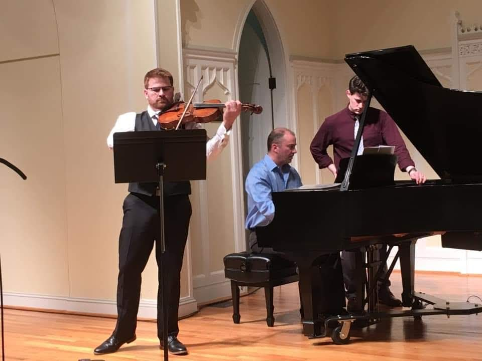viola 1919 recital at LVC