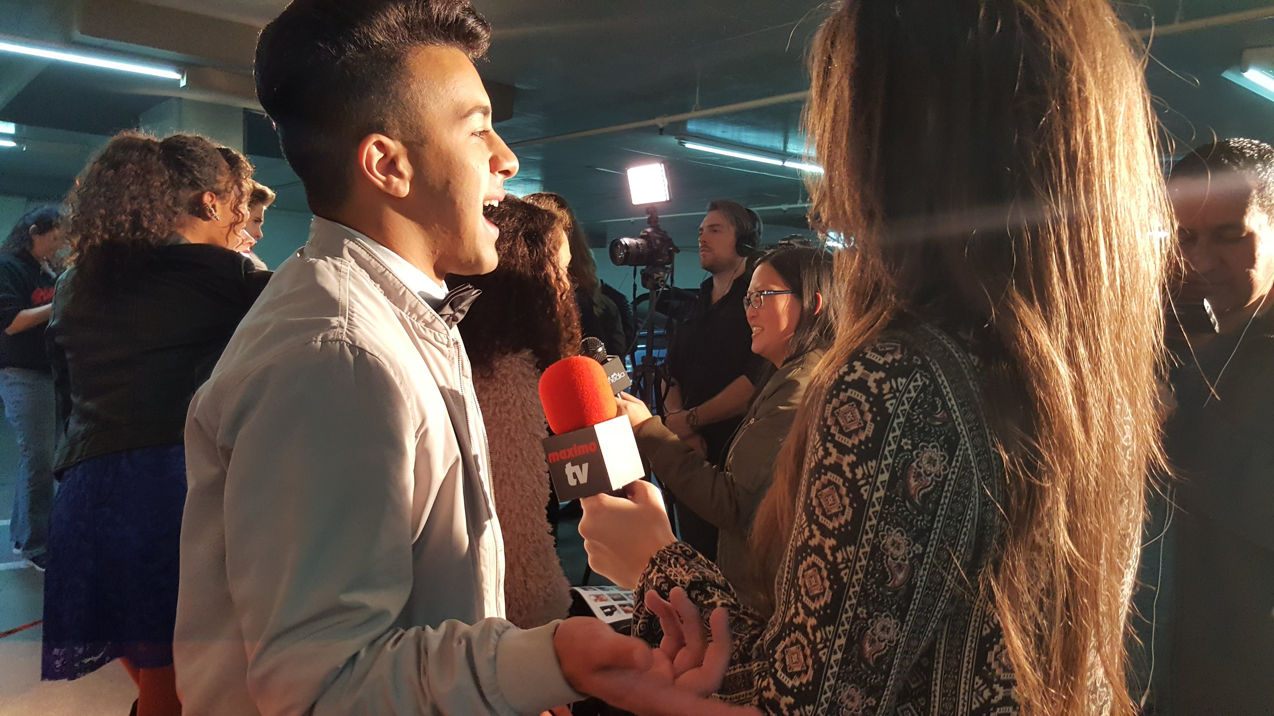 Maximo TV Interviews Miguelito MTO on the Red Carpet of Ricky Garcia 18th Birthday Party.