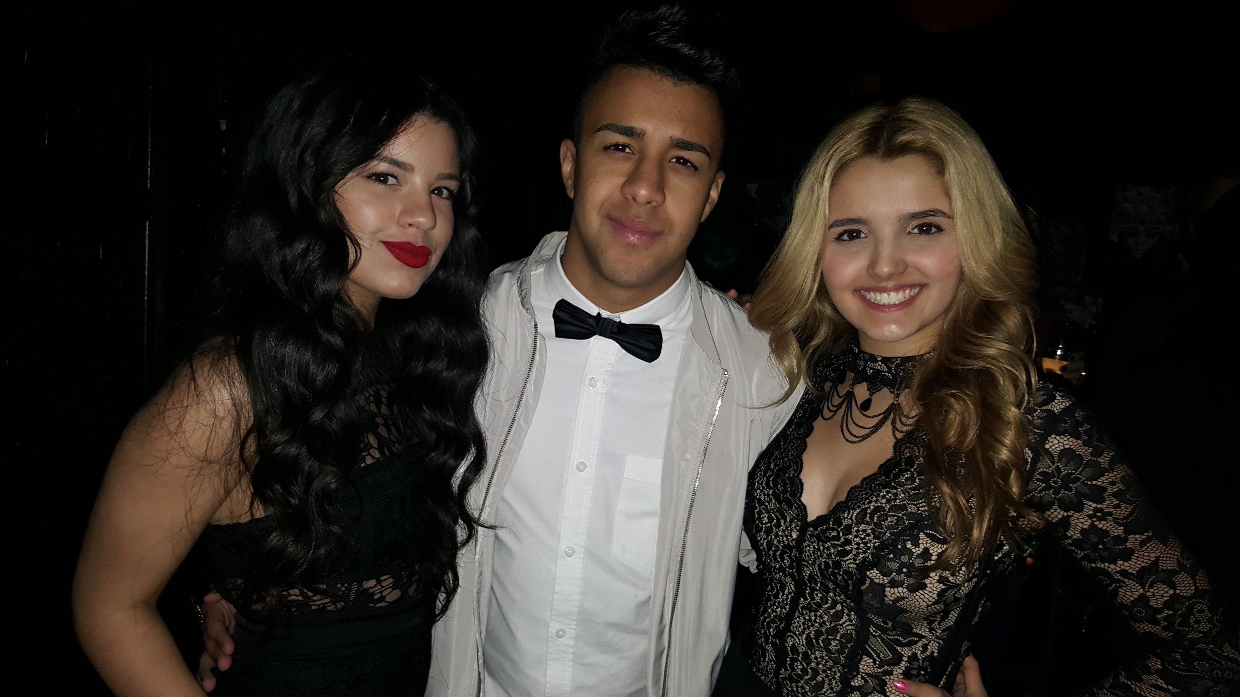 Milagro Valenzuela, Miguelito MTO, and Victoria Vida