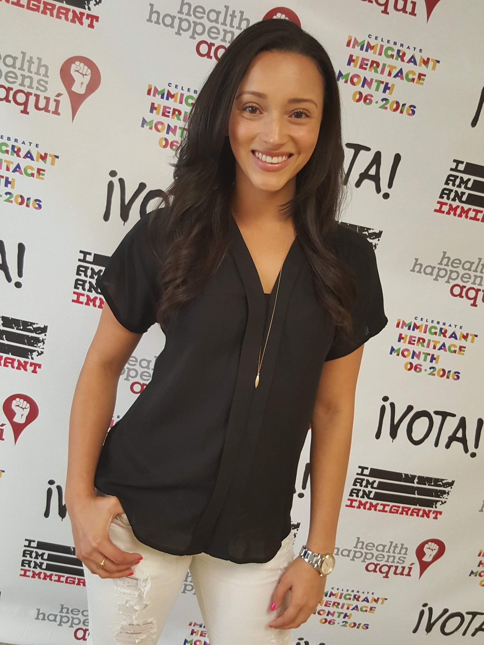 """Danielle Vega attends """"I Am An Immigrant: A Celebration of our Stories"""""""