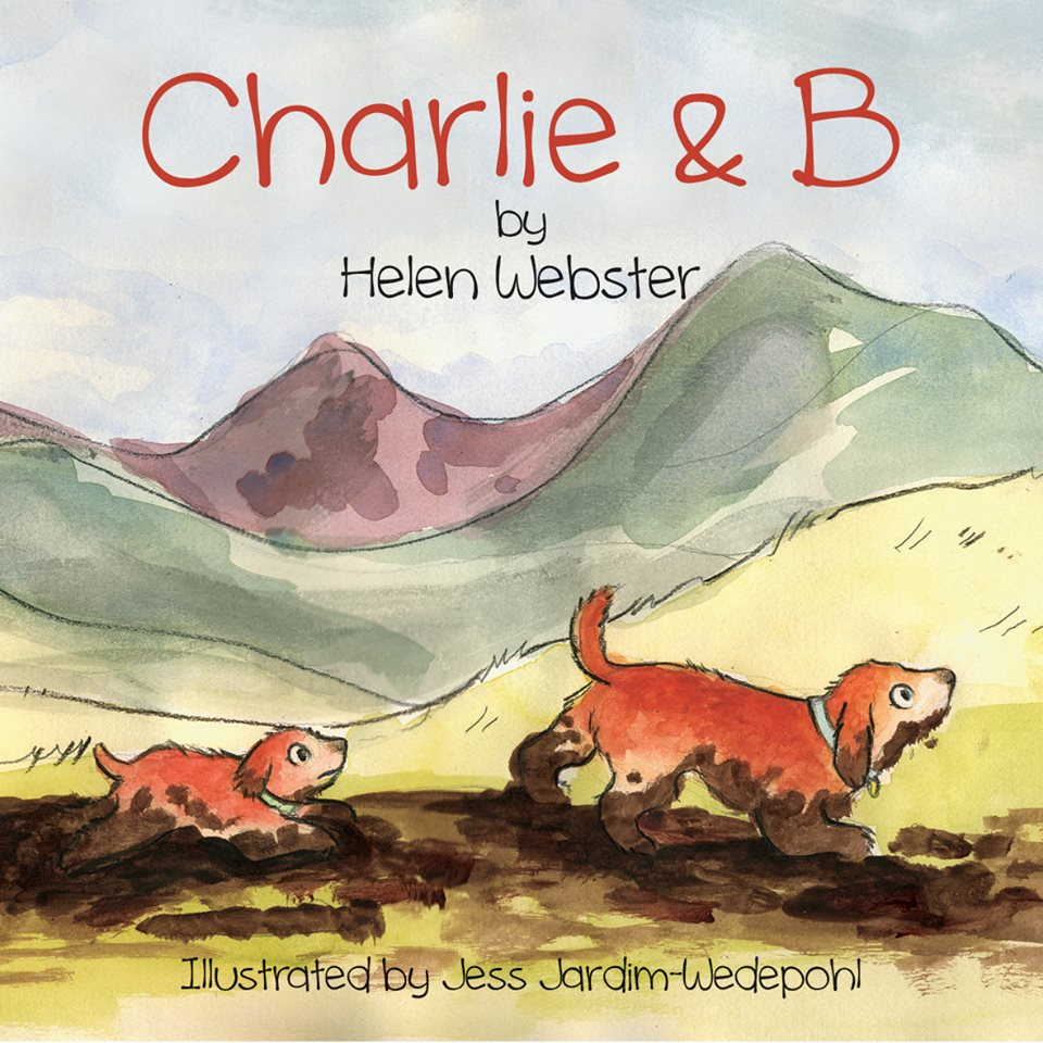 """""""Charlie and B"""" cover illustration"""