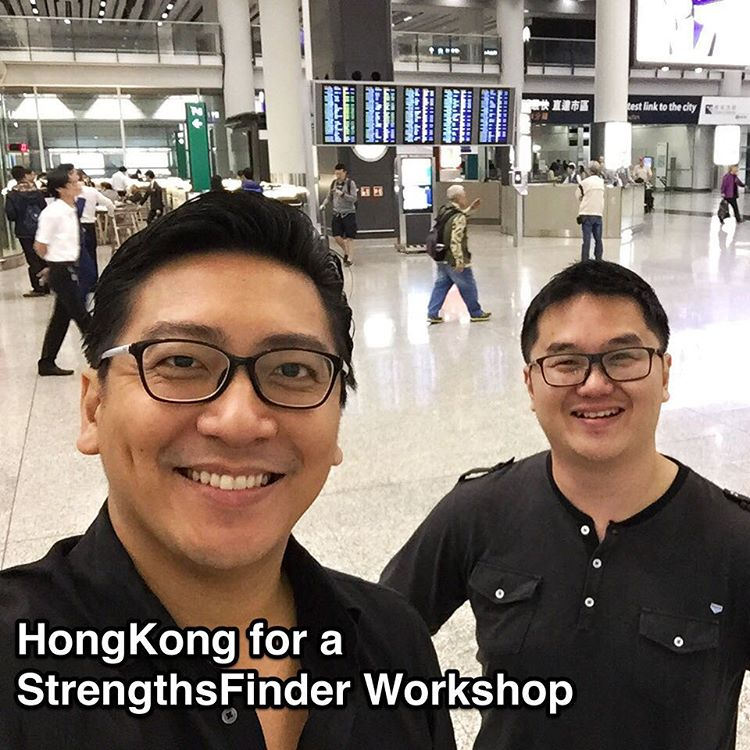 From #Singapore to #HongKong! Doing a #Corporate #StrengthsFinder #workshop for an MNC    It's great to be back in HongKong to do our 2 day signature 'K.A.L.P Strengths System™' for a MNC. I personally have lost track of the number of StrengthsFinder Workshops we have done for our client. Definitely a good sign    I like to believe that one of the strongest reasons why a client keeps calling us back is because of the high level of quality we demand from ourselves    When we conduct a StrengthsFinder workshop, we are confident in receiving a rating that is above 8 out of 10. We hold this high expectation of quality independent of training location. Be it in Singapore, Hong Kong, Malaysia, Shanghai or India    I'm excited to spend the next 2 days sharing about how their team can improve engagement, learn leadership, understand individual and team strengths - all using our own StrengthsFinder-based framework    #StrengthsQuest #StrengthsSchool #Gallup #StrengthsFinderSG #Asia #HumanResource #SelfImprovement #SelfDevelopment #TrainingAndDevelopment #ProfessionalDevelopment #StrengthsFinderCoach    Jason Ho • SouthEast Asia's 1st StrengthsFinder Certified Coach • Strengths School™ Singapore