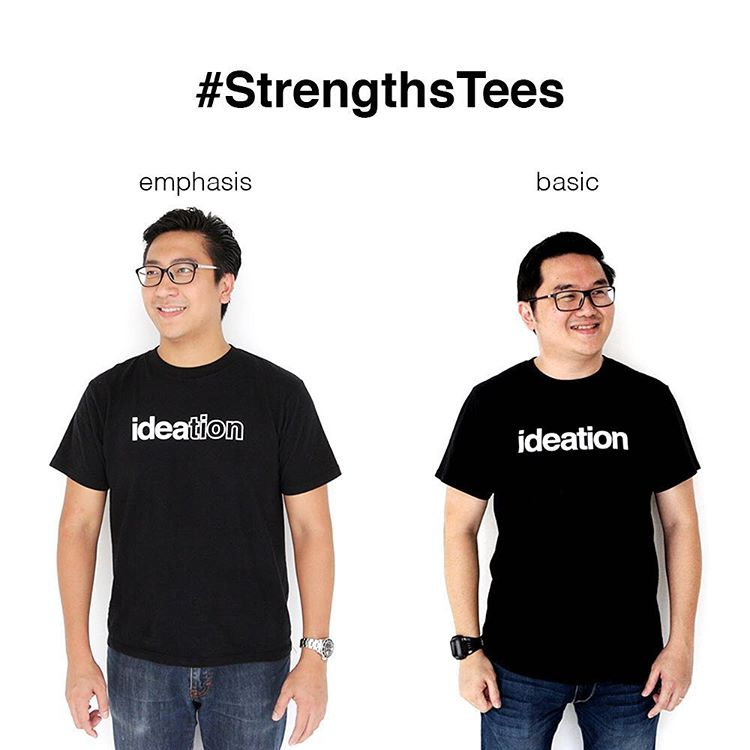#StrengthsFinder tees from Strengths School #Singapore     Here at Strengths School™, we like to think that we push the innovation envelop in everything we do. From the workshops & coaching we conduct, to the creative ways we express the 34 unique StrengthsFinder talent themes (strengths).     So when we came out with the 'basic' range of #StrengthsTees, we liked how simple it was.    Now we pushed that envelop once again, and present our 'emphasis' range.    #StrengthsQuest #StrengthsSchool #StrengthsFinderSG #Asia #HumanResource #SelfImprovement #SelfDevelopment #TrainingAndDevelopment #ProfessionalDevelopment #StrengthsFinderCoach    Jason Ho • SouthEast Asia's 1st StrengthsFinder Certified Coach • Strengths School™ Singapore