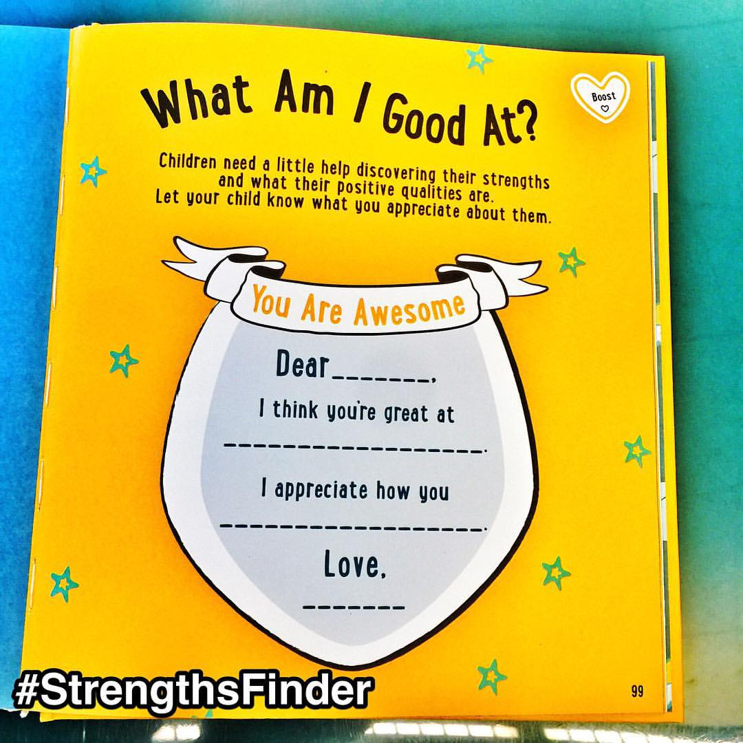 "#StrengthsFinder philosophy in #Singapore schools     My son just went to Primary 1 and every parent was given an activity book by the Ministry of Education Singapore (MOE)    One of the activities to do with your kid is to find out what they are good at     Titled: 'What they are good at' - Children need a little help discovering their strengths and what their positive qualities are. Let your child know what you appreciate about them. So I'll do it here     Dear Caden, I think you are great at coming up with stories of animals that are super interesting and exciting. I appreciate how you are able to creatively come up with hybrid animals (T-Rex head, crocodile body, tiger legs) that shows your rich and wonderful imagination. Love Papa     One day when he has Instagram (if it's still cool) he can see this post     If I can parallel this father-son relationship to a manager-staff one, the people around you at work would also ""need a little help discovering their strengths and what their positive qualities are"". That's why I love what I do. When I do a StrengthsFinder Workshop for an organization, we get to have these rich conversations on what your talents and strengths are. And how these are so important in the team's success     Building upon their top 5 strengths, we get to understand deeply how individuals in your team view the world, what kind of leadership style they are most inclined to and how to maximize it for performance     It's heartening to know that the Singapore education system is in putting tangible steps to discover our children's strengths     #StrengthsQuest #StrengthsSchool #StrengthsFinderSG #Asia #HumanResource #Gallup #SelfImprovement #SelfDevelopment #TrainingAndDevelopment #ProfessionalDevelopment #StrengthsFinderCoach    Jason Ho • SouthEast Asia's 1st StrengthsFinder Certified Coach • Strengths School™ Singapore"