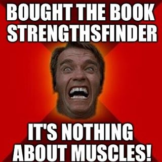 "#StrengthsFinder #Strengths training with #ArnoldSchwarzenegger #Singapore    I would imagine this would be his ""reaction"" to buying the book    Memes are common nowadays, and I tried this out with one of the hundreds of meme generators available. Having #positivity as one of my top 10, I always see the lighter side of life and of work    When people ask me about StrengthsFinder or even Strengths School™, some of them do wonder if it has anything to do with building muscles, weights or do I run a gym    The StrengthsFinder definition of positivity: Somehow you can't quite escape your conviction that it is good to be alive, that work can be fun, and that no matter what the setbacks, one must never lose one's sense of humor.    #StrengthsQuest #StrengthsSchool #StrengthsFinderSG #Asia #HumanResource #Gallup #SelfImprovement #SelfDevelopment #TrainingAndDevelopment #ProfessionalDevelopment #StrengthsFinderCoach    Jason Ho • SouthEast Asia's 1st StrengthsFinder Certified Coach • Strengths School™ Singapore"