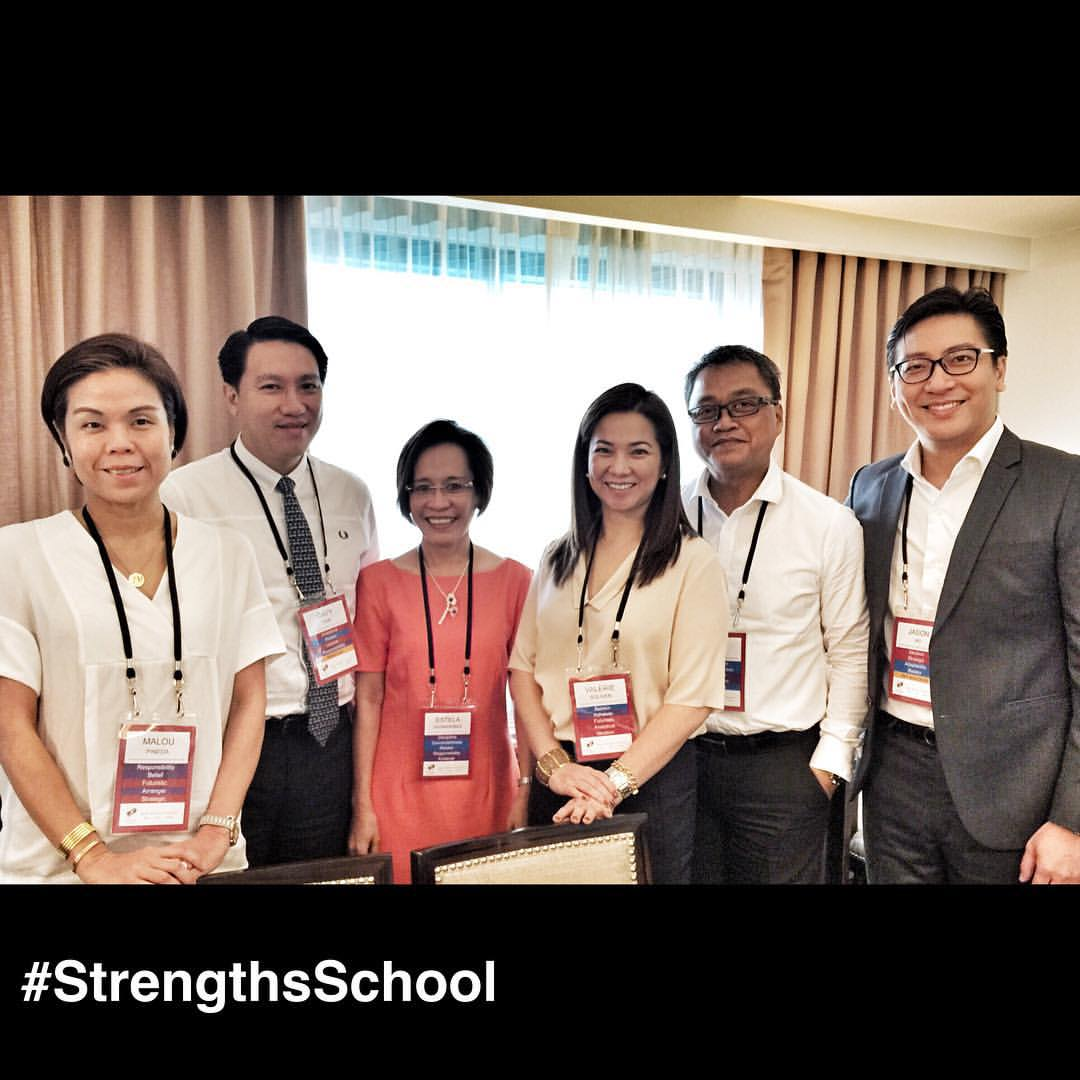 From #Singapore to #Philippines for a #StrengthsFinder workshop     Had a great time doing StrengthsFinder for one of Philippines largest property developer's top tier management.     Looking forward to meeting with the President for a StrengthsFinder session as well.     #StrengthsQuest #StrengthsSchool #StrengthsFinderSG #Asia #HumanResource #Gallup #SelfImprovement #SelfDevelopment #TrainingAndDevelopment #ProfessionalDevelopment #StrengthsFindercoach    Jason Ho StrengthsFinder Coach • Strengths School™ Singapore