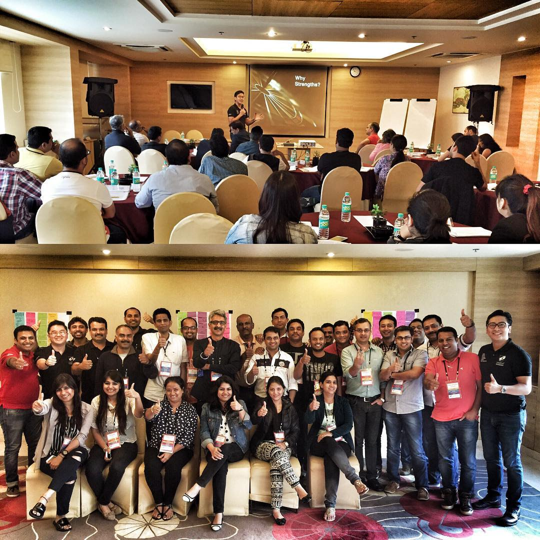 Finished the #StrengthsFinder workshop and headed back to #Singapore from #India.     Had such a fruitful time together with them and look forward to hear how StrengthsFinder and this positive paradigm will continue to impact their professional and personal lives.     During the session, we had some individuals feel so overwhelmed with affirmation that they got emotional. Sometimes in Asian cultures, affirmation is not as freely given. Hopefully, this can slowly change.     It truly is fulfilling to be able to spark this journey where they can affirm each other's strengths in a sincere and genuine manner.     Till the next time we come back to Bangalore!     #StrengthsQuest #StrengthsSchool #StrengthsFinderSG #Asia #HumanResource #Gallup #SelfImprovement #SelfDevelopment #TrainingAndDevelopment #ProfessionalDevelopment #StrengthsFindercoach     Jason Ho StrengthsFinder Coach • Strengths School™ Singapore