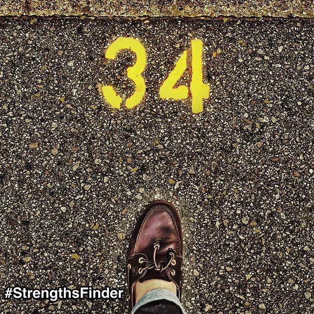 34StrengthsFindertalents: Whenitcomestosuccessanddoingyourbest,whataresomeofthestrategieswecanapplytogiveusabetterchance?  ForthosewhohavetakentheStrengthsFinderassessment,wenowhave34strategiestoreachsuccess.  Byunderstandingthese34strengths,youcanstarttoleverageyourownpotentialaswellasthepotentialofyourteammembers,partners,friendsandfamily.  Start putting your best foot forward with these 34 strengths. (I took this in the carpark on my way to lunch today)  #StrengthsFinder #StrengthsQuest #StrengthsSchool #StrengthsPhilosophy #SelfImprovement #34Strengths #BestFootFoward #TheBestIsYetToBe