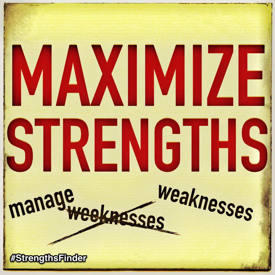 """Which is a better formula for success?    A) Maximize your strengths & manage weaknesses or  B) Minimize your weaknesses & manage your strengths    Research by Gallup shows that around 59% of people in America believe in (B). However, StrengthsFinder is about making the most of what you are good at and letting that shine through amidst the countless """"dark clouds"""" of weaknesses.    What actions are you taking to Maximize your Strengths today?    #StrengthsFinder #StrengthsQuest #StrengthsSchool #StrengthsPhilosophy #BeTheBestYouCanBe #StrengthsBeforeWeakness #MaximizeStrengthsManageWeakness #Maximizer    Find out what comes naturally for you by taking the online StrengthsFinder assessment and ask a StrengthsFinder Coach to make sense of your strengths    Jason Ho StrengthsFinder Coach • Strengths School • Singapore & Asia"""