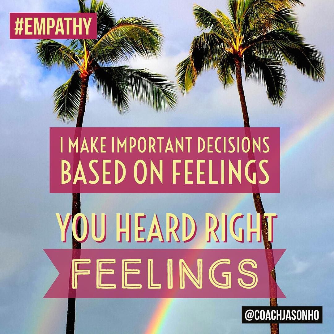 Singapore StrengthsFinder Empathy Infancy (Basement) Fun Quote
