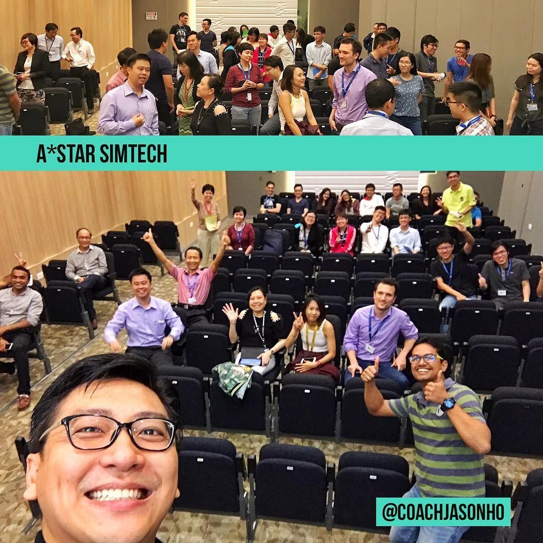 Singapore - StrengthsFinder talk for AStar SIMTech