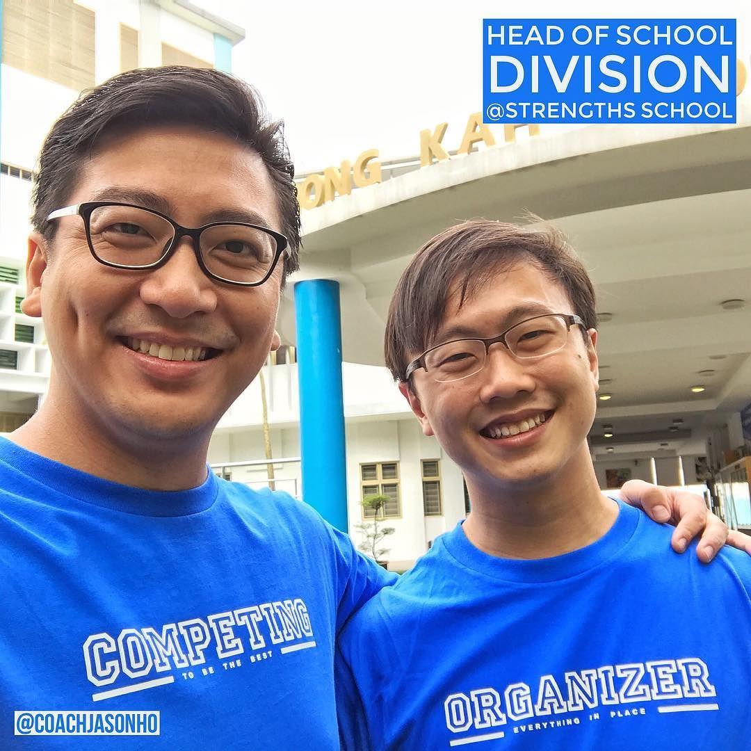 Singapore - StrengthsFinder Coach Gideon Ren who Heads the School Division in Strengths School