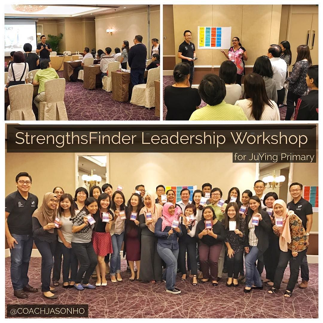 StrengthsFinder Leadership Workshop along Singapore's Raffles Boulevard