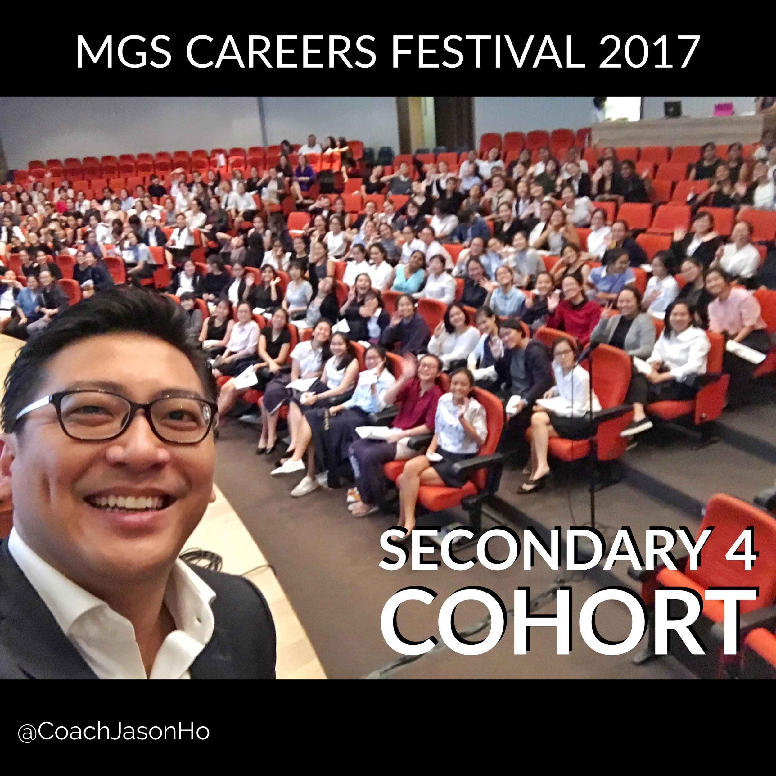 Invited as a keynote speaker for MGS Careers Festival 2017 #StrengthsFinder