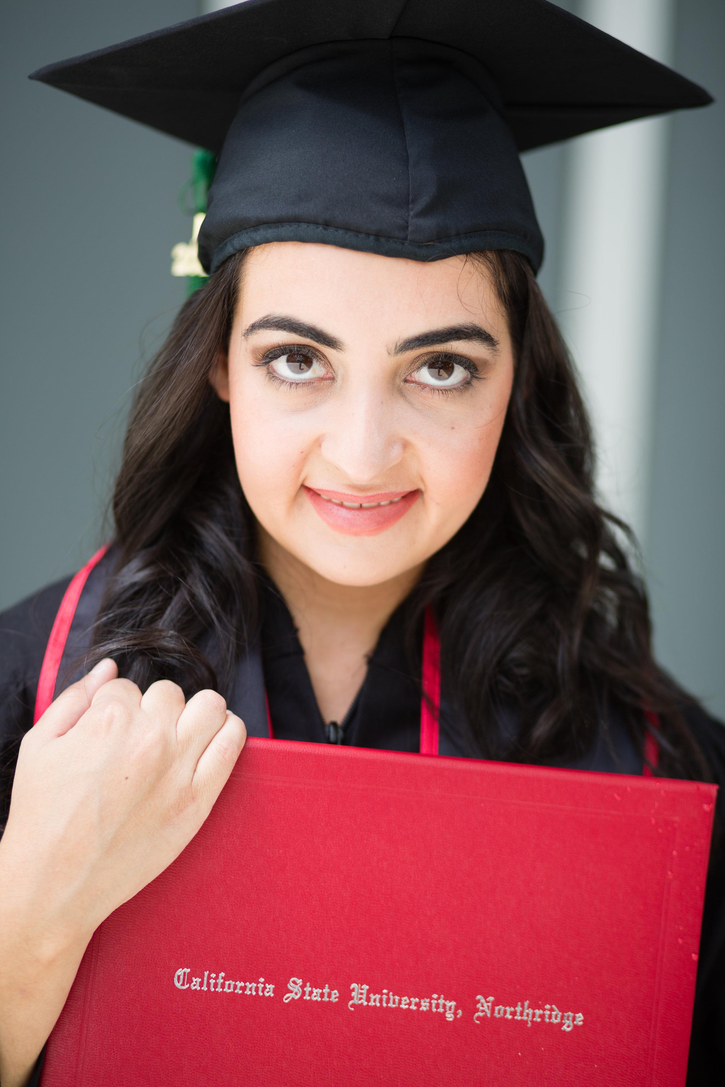 Graduation photograph