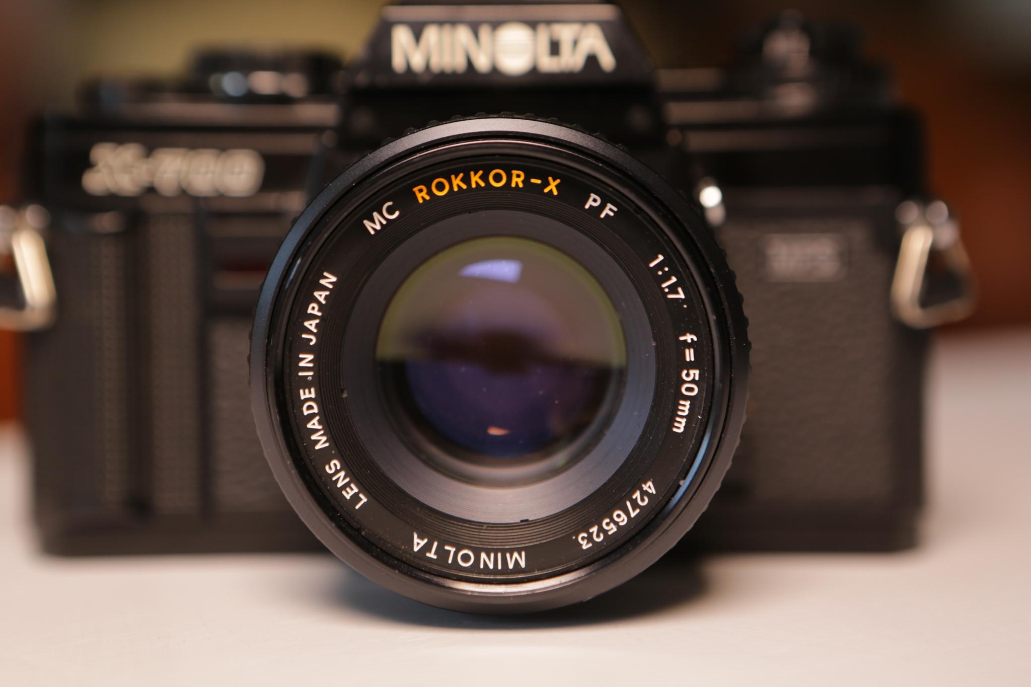 minolta x700 50mm lens