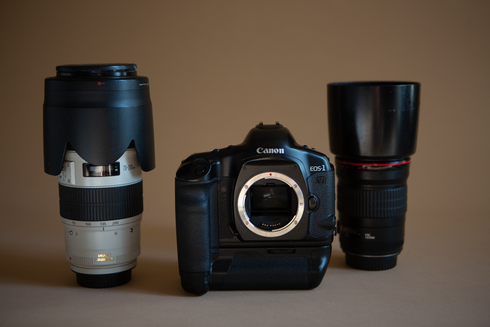 Canon 1V with 70-200mm f2.8 and the 24-70mm f2.8